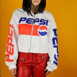 Jackets & Blazers - Pepsi zip up jacket